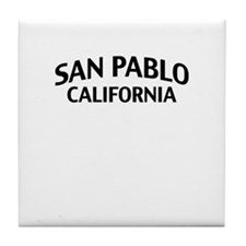 San Pablo California Tile Coaster