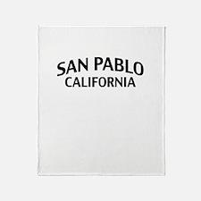 San Pablo California Throw Blanket