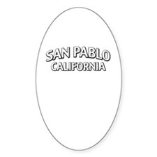 San Pablo California Decal