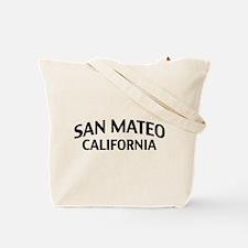 San Mateo California Tote Bag
