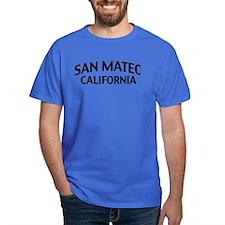 San Mateo California T-Shirt