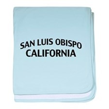 San Luis Obispo California baby blanket