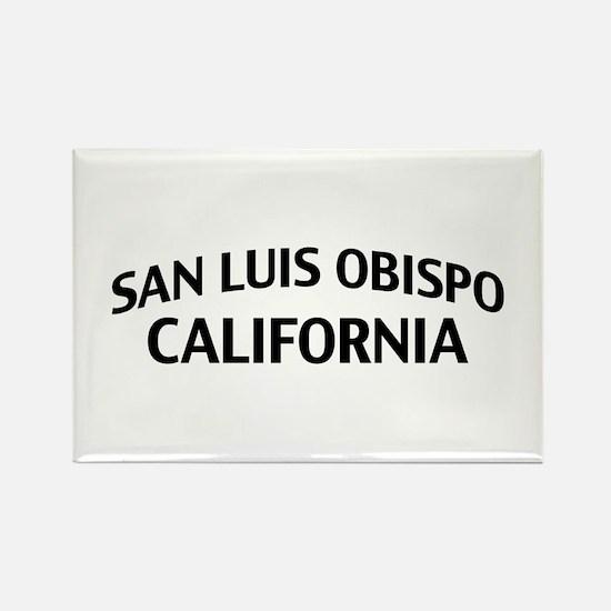 San Luis Obispo California Rectangle Magnet