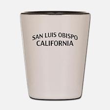 San Luis Obispo California Shot Glass