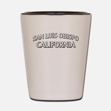 San Luis Obispo California Shot Glass