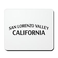 San Lorenzo Valley California Mousepad