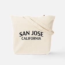 San Jose California Tote Bag