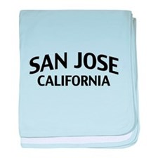 San Jose California baby blanket