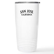 San Jose California Travel Mug