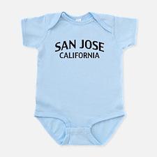 San Jose California Infant Bodysuit