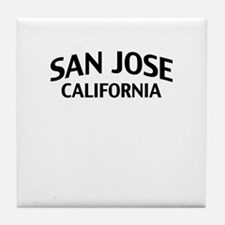 San Jose California Tile Coaster
