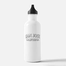San Jose California Water Bottle