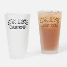 San Jose California Drinking Glass
