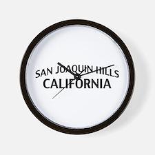 San Joaquin Hills California Wall Clock
