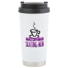 Caffeinated Mom Travel Coffee Mug