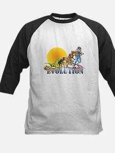 Scuba Evolution Kids Baseball Jersey