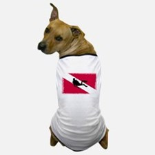 Scuba Diver & Flag Dog T-Shirt