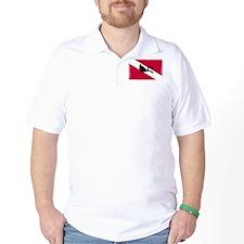 Scuba Diver & Flag T-Shirt