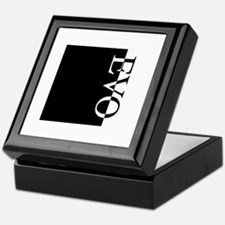 EVO Typography Keepsake Box