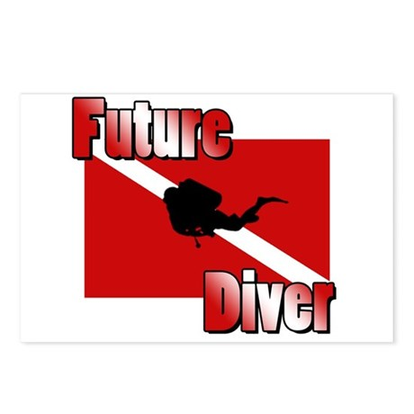 Future Diver Postcards (Package of 8)