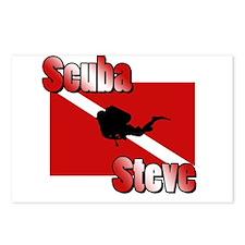 Scuba Steve Postcards (Package of 8)