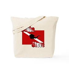 Scuba Steve Tote Bag