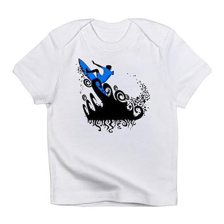 Surf blue Infant T-Shirt