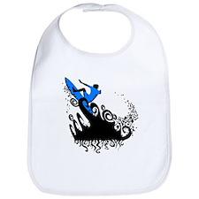 Surf blue Bib