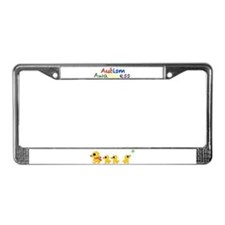 The distracted Duck License Plate Frame