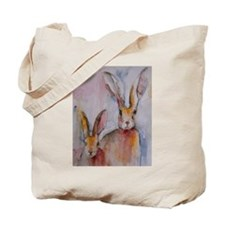 2 Hares ~ Tote Bag