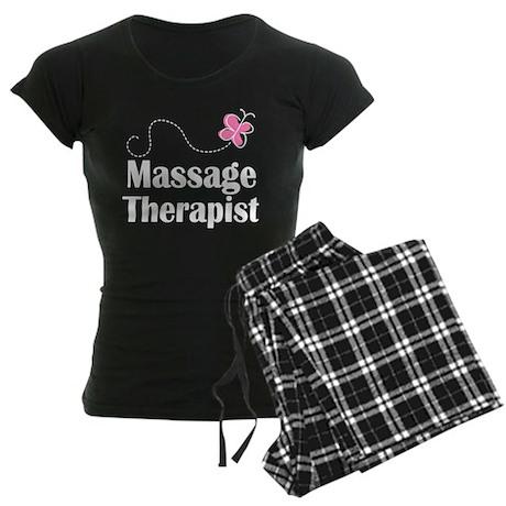 Massage Therapist Women's Dark Pajamas