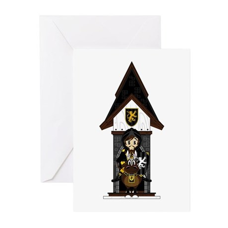 Medieval Knight on Horseback Cards (Pk of 20)