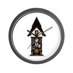 Medieval Knight on Horseback Wall Clock
