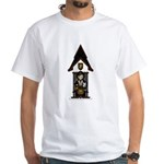 Medieval Knight on Horseback White T-Shirt