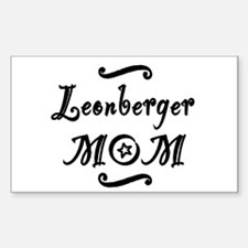Leonberger MOM Decal