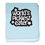World's Pickiest Eater baby blanket