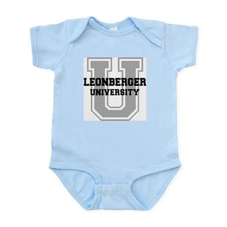 Leonberger UNIVERSITY Infant Bodysuit