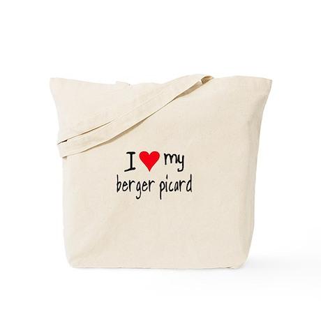 I LOVE MY Berger Picard Tote Bag