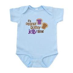 It's Peanut Butter Jelly Time Infant Bodysuit