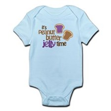 It's Peanut Butter Jelly Time Infant Bodysuit