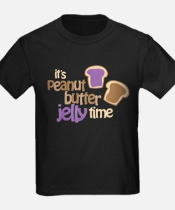 It's Peanut Butter Jelly Time T