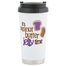 It's Peanut Butter Jelly Time Travel Mug
