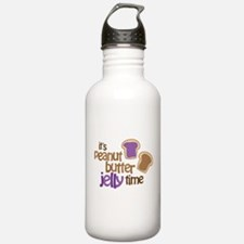 It's Peanut Butter Jelly Time Water Bottle