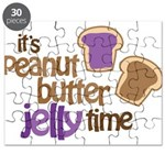 It's Peanut Butter Jelly Time Puzzle