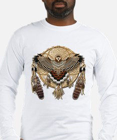 Red-Tail Hawk Dreamcatcher Long Sleeve T-Shirt