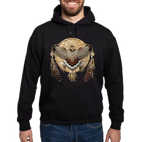 Red-Tail Hawk Dreamcatcher Hoodie (dark)