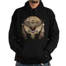 Red-Tail Hawk Dreamcatcher Hoodie