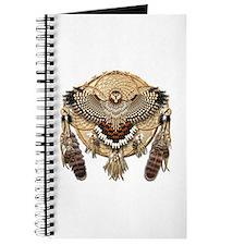 Red-Tail Hawk Dreamcatcher Journal