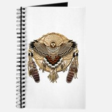Red-Tail Hawk Dreamcatcher Journal