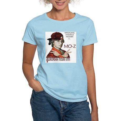 Mozart 'Mo-Z' Tour Women's Pink T-Shirt
